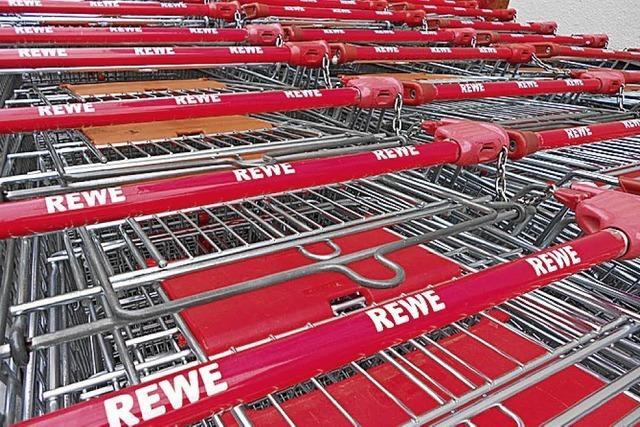 Ausbau des Rewe-Markts