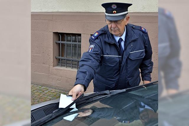 Wer dauernd falsch parkt, muss auch mehr zahlen
