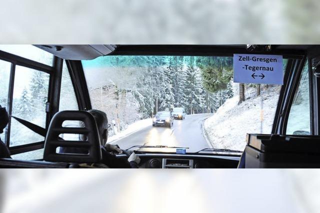 Neue Verbindung: Mit dem Bus nach Gersbach hoch