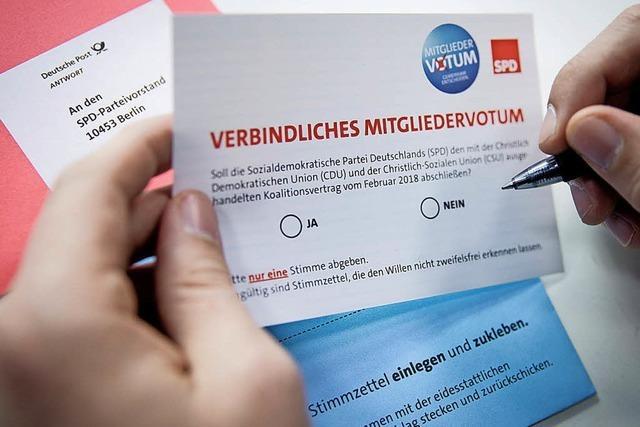 SPD-Ortsverein diskutiert über GroKo