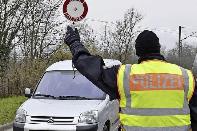 Unterwegs mit der Bundespolizei an der deutsch-französischen Grenze