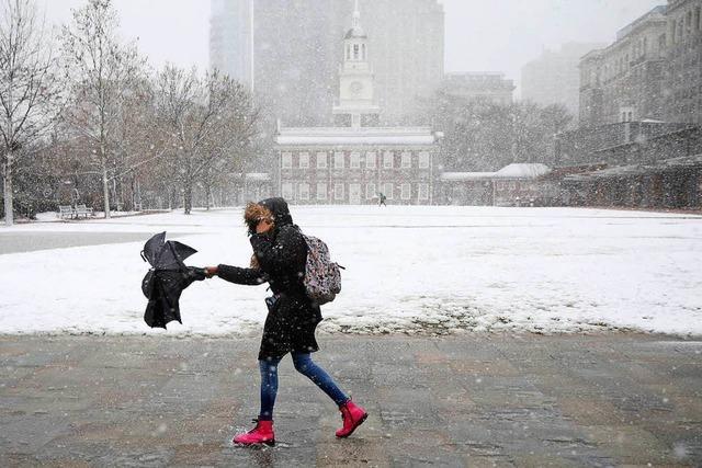 Schwerer Wintersturm an der US-Ostküste – mindestens fünf Tote