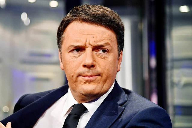 Matteo Renzi: Vom Volkshelden zum Buhmann