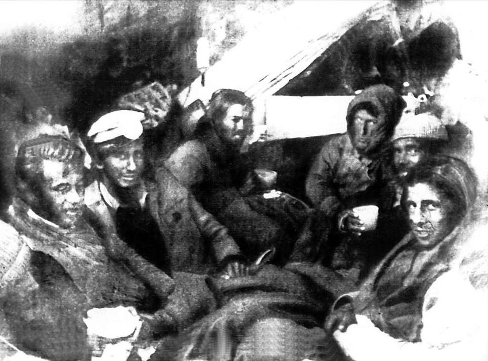 Sie lebten vom Fleisch der Toten: Absturzopfer 1972 in den Anden  | Foto: UPI