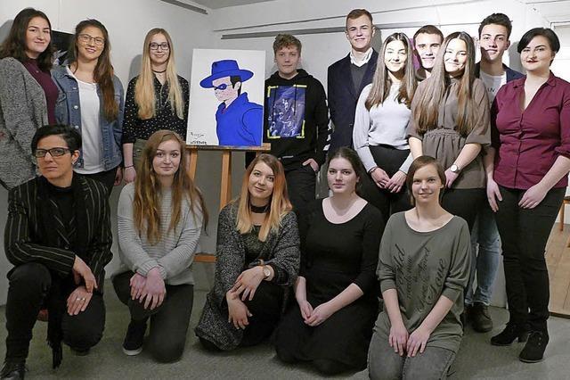 Kunstschüler haben ihre Freiheit genutzt