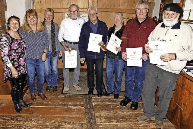 Schwarzwaldverein ehrt die treuen Mitglieder
