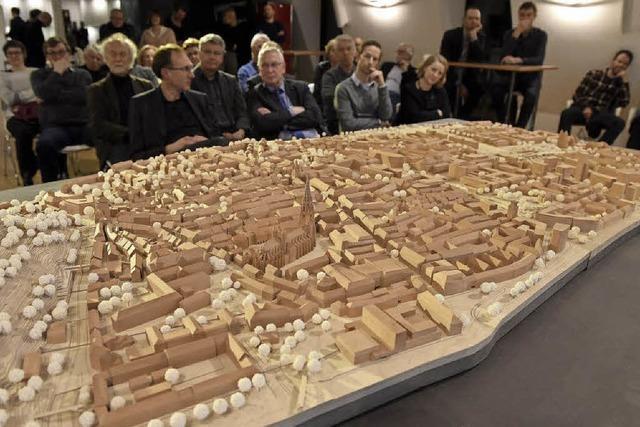 Die Freiburger Altstadt im Mini-Format