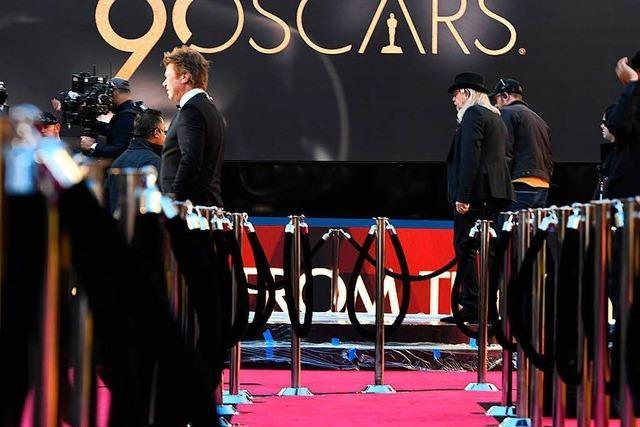 Die Gewinner der 90. Oscar-Verleihung