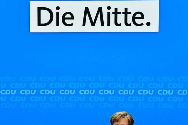 Merkel drückt aufs Tempo: Müssen rasch Regierungsarbeit mit SPD aufnehmen
