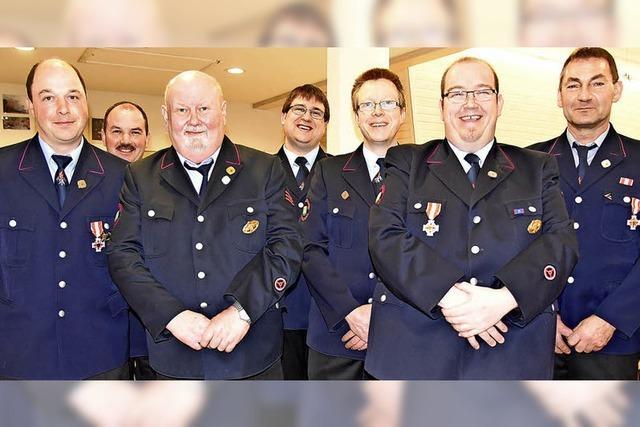 Feuerwehrleute sind drei Mal pro Woche unterwegs