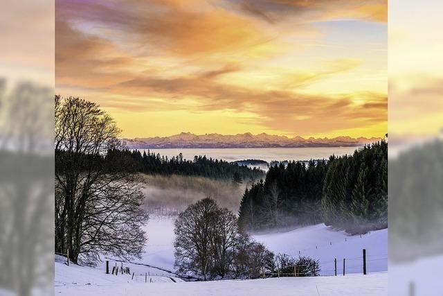 Wunderbare Landschaft in faszinierenden Bildern
