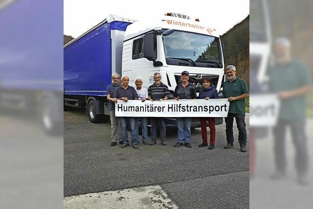 Der nächste Hilfstransport rollt an
