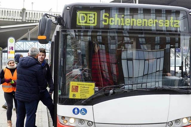 Ersatzverkehr im Höllental braucht noch Eingewöhnung