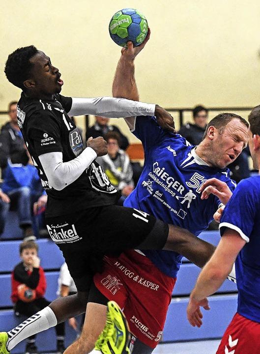Der zurückgekehrte Daluis Rasikevicius...die Niederlage aber nicht verhindern.   | Foto: Pas