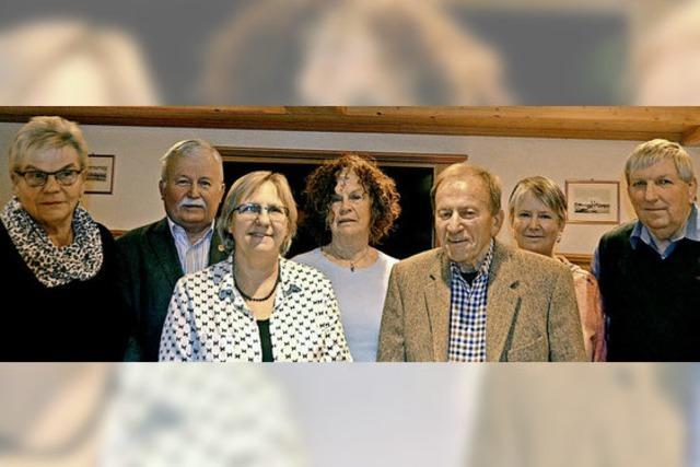 Schwarzwaldverein ehrt langjährige Mitglieder