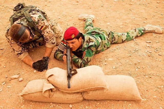 Deutsche Soldaten bilden künftig Iraks Armee aus