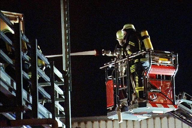 Brand in Ettenheimer Pelletwerk mit hohem Schaden