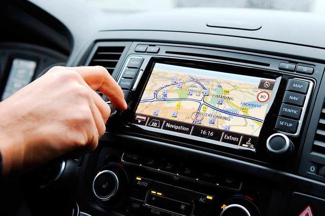 Wie funktioniert ein Navigationssystem?