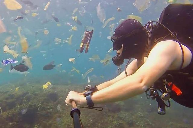Tauchgang im Plastikmeer – Britischer Taucher dreht Schockvideo