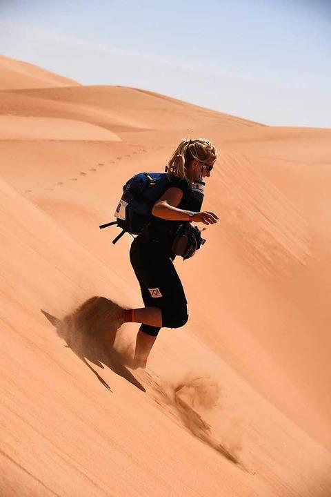 ...durch die Wüste...  | Foto: Privat