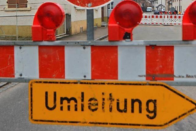 Bundesstraße in Oberschopfheim wird fast drei Wochen gesperrt