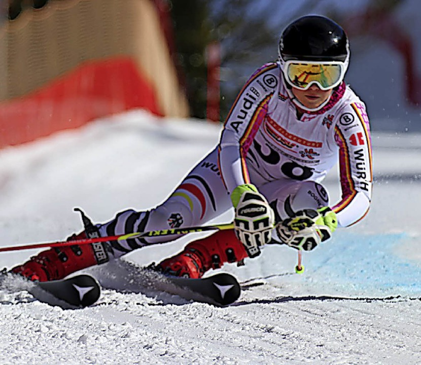 Emilia Löffler fuhr beim Parallelslalom in Garmisch ins Achtelfinale.  | Foto: Dieter Horning-Wiesler