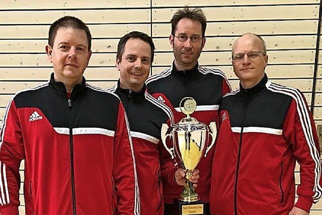 Pokalsieg für Prellballer