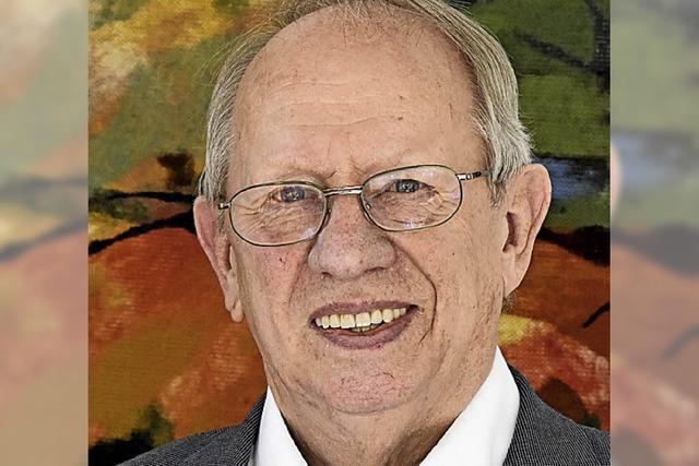 Auch mit 80 sieht sich Dietrich Elchlepp verpflichtet, mitzumischen