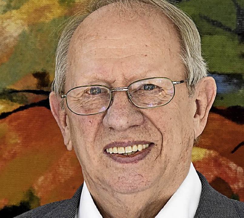 Dietrich Elchlepp feiert heute seinen 80. Geburtstag    Foto: Markus Zimmermann