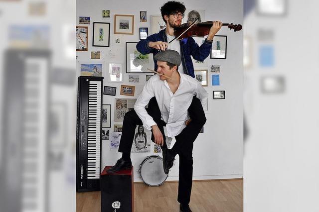 Ausbruch-Duo mit experimenteller Musik im Stiftsschaffneikeller Lahr