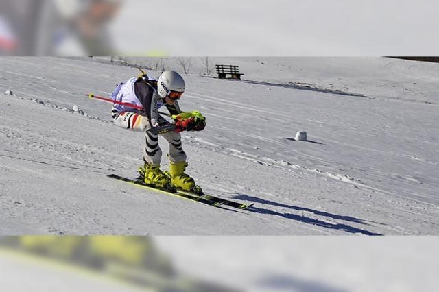Fast 40 Öflinger Skifahrer messen sich