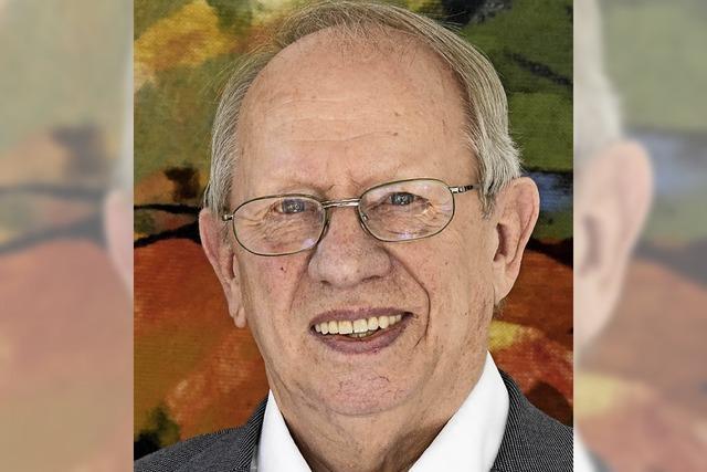 Der Bildungs- und Europapolitiker Dietrich Elchlepp wird 80