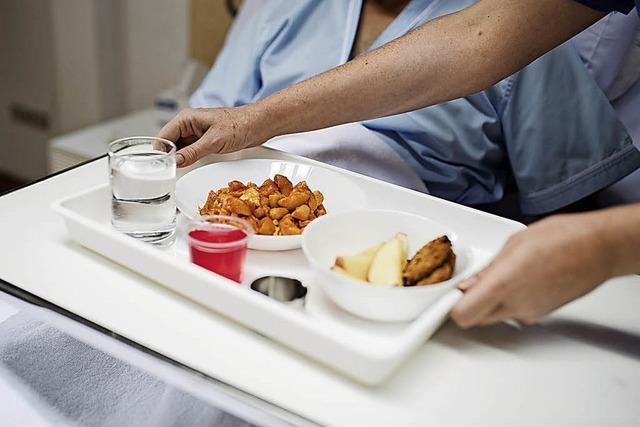 Krankenhausessen ist oft ungesund