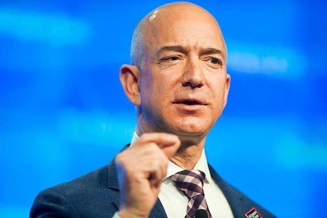 Amazon-Gründer Jeff Bezos neuer reichster Mensch der Welt