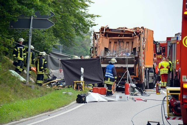 Prozess nach Müllwagen-Unfall in Nagold hat begonnen