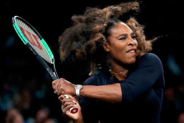 Serena Williams gibt ihr Tennis-Comeback