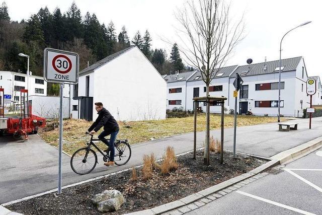 Im Günterstäler Baugebiet sind jetzt alle Grundstücke vergeben