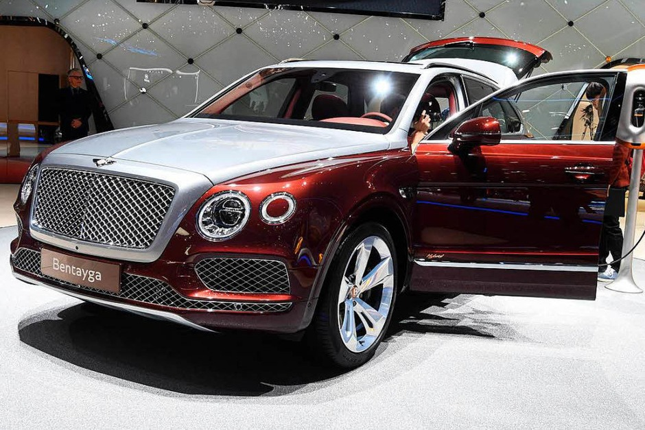 Ein Bentley Bentayga Hybrid (Foto: dpa)