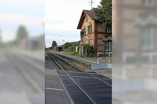 Bahnsteig soll wie geplant auch gebaut werden