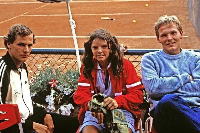 Tennisclub auf der richtigen Schiene