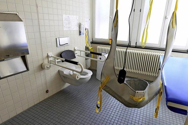 In Freiburg gibt es nun Toiletten für schwer- und mehrfachbehinderte Menschen