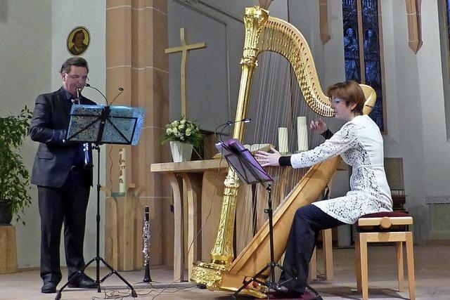 Klarinette trifft auf Harfe