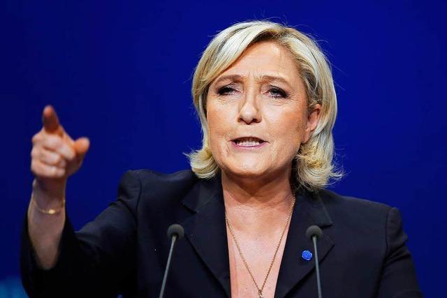 Marine Le Pen plant eine