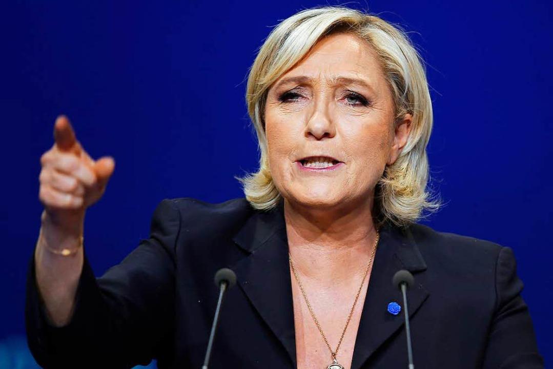Marine Le Pen als Parteichefin wiedergewählt