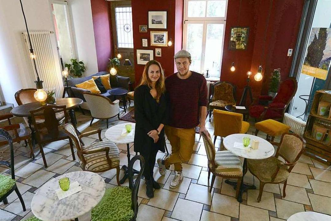 Carmen Stürmer hat die Räume umgestalt...neue Leiter des Adelhaus-Restaurants.   | Foto: Ingo Schneider