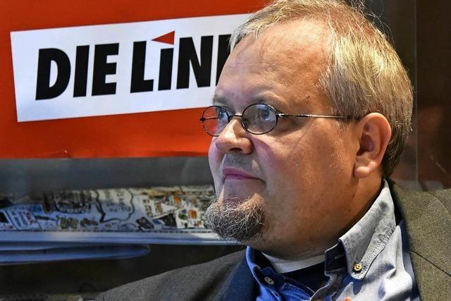 Doch kein Bericht aus Berlin mit dem Linken Tobias Pflüger
