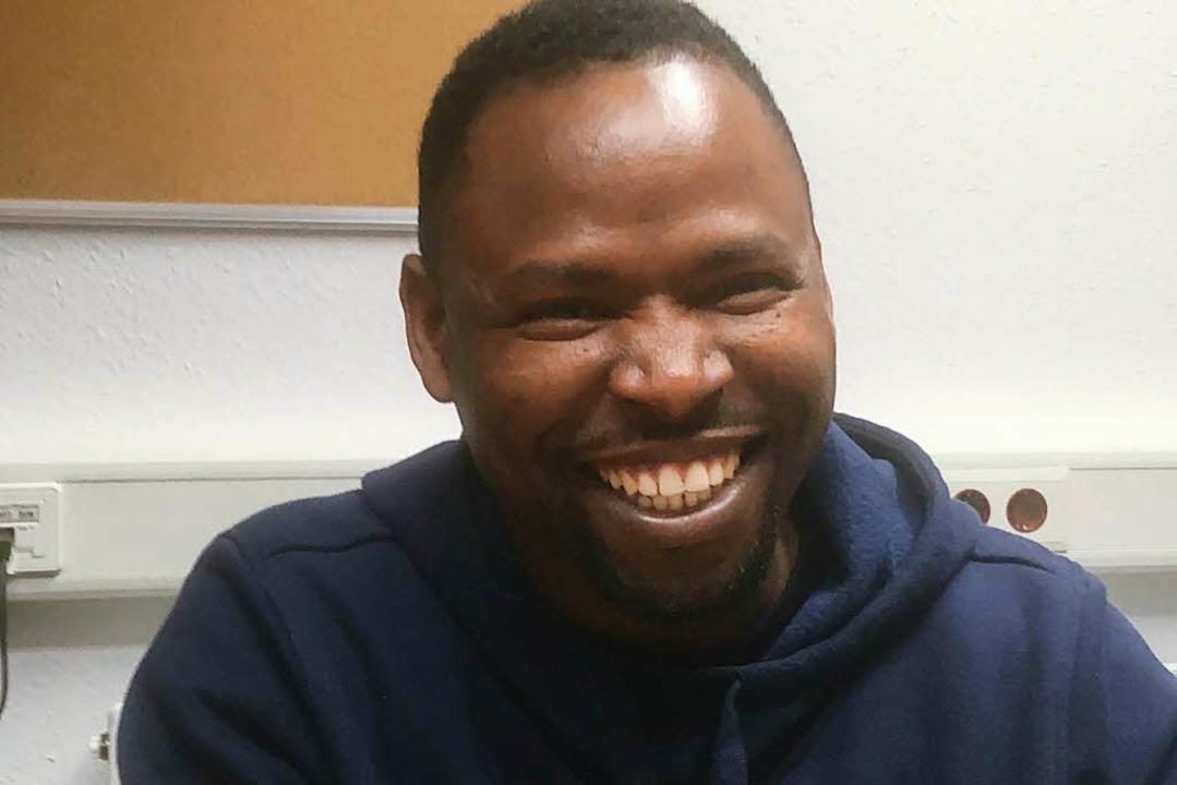 Der Nigerianer Manasseh Shedrach ist der aktuelle Alkalo.  | Foto: .