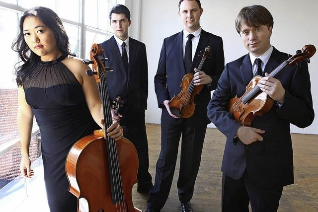 Das Calidore String Quartet und Gabriela Fahnenstiel eröffnen am Sonntag, 18. März, die Konzertreihe
