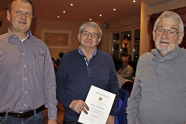 Moritz Fehrenbacher ist Ehrenmitglied