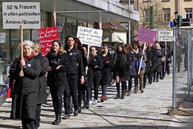 Gewalt gegen Frauen ächten